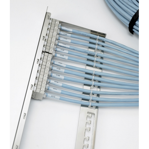 Excel Unloaded Keystone Jack Modular Patch Panel, 1U.